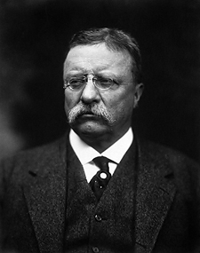 Theodore Roosevelt. Image from the Library of Congress.